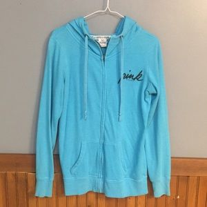 Light blue Victoria's Secret Sweatshirt! Size XS